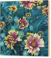 Contrasting Colors Orignial Wood Print