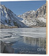 Convict Lake Morning Wood Print