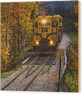 Conway Scenic Railway Wood Print