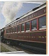 Conway Scenic Railway Wood Print