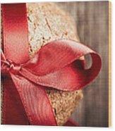 Cookie Gift Wood Print by Jane Rix