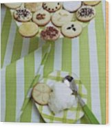 Cookies And Icing Wood Print