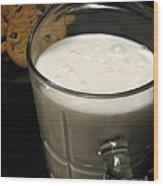 Cookies And Milk Wood Print