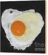 Cooking With Love Series. Breakfast For The Loved One Wood Print
