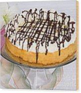 Cookydaugh Cheesecake Wood Print