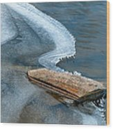 Cool Curving Edge II Wood Print