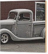 Cool Little Ford Pick Up Wood Print