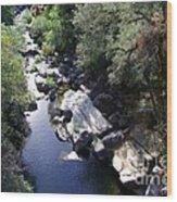 Cool Mountain Creek Wood Print