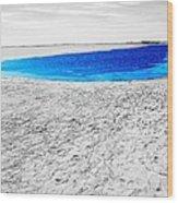 Coorong Sandy Bay Wood Print