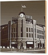 Coors Field - Colorado Rockies 19 Wood Print