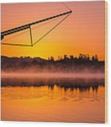 Coos Bay Sunrise II Wood Print