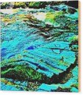 Coos Canyon 24 Wood Print