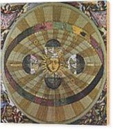 Copernican Universe Wood Print