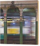 Copley Station Wood Print