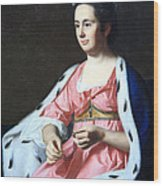 Copley's Abigail Smith Babcock Or Mrs. Adam Babcock Wood Print