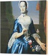 Copley's Anne Fairchild Bowler -- Mrs. Metcalf Bowler Wood Print
