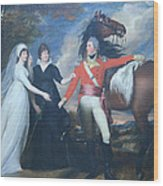 Copley's Colonel William Fitch And His Sisters Sarah And Ann Fitch Wood Print