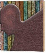 Copper Man Wood Print