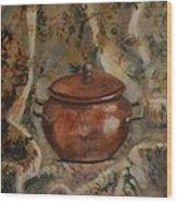 Copper Pot Wood Print