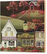 Copper Springs Wood Print