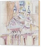 Coptic Church Beaunos Aires Wood Print