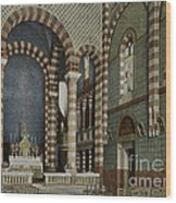 Coptic Church, Cairo, Egypt, 1906 Wood Print by Getty Research Institute