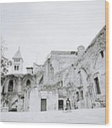 Coptic Jerusalem Wood Print