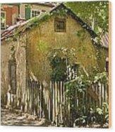 Coquina House Wood Print