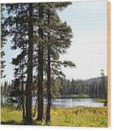 Cora Lake-2 Wood Print