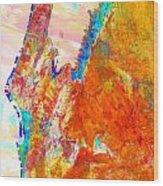 Coral Bay And Ningaloo Wood Print