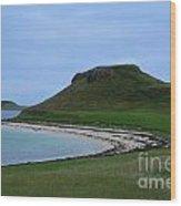 Coral Beach On The Isle Of Skye Wood Print