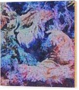 Coral Heaven Wood Print