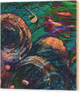 Coral Reef 2 Wood Print