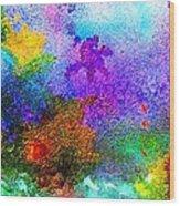 Coral Reef Impression 6 Wood Print