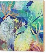 Coral Reef Dreams 2 Wood Print