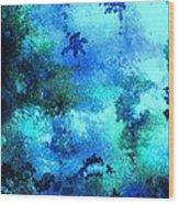 Coral Reef Impression 12 Wood Print