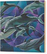Corazon Del Mar  Wood Print