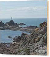 Corbiere Lighthouse Wood Print