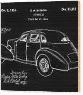 Cord Automobile Patent 1934 - Black Wood Print