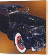 Cord Phaeton 1936 Wood Print