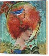 Cordelia Wood Print