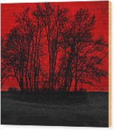 Core Wood Print