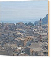 Corfu Wood Print