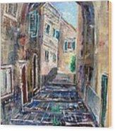 Corfu The Old Town . Wood Print