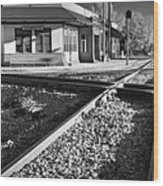 Corinth Station Wood Print