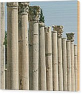 Corinthian Columns In Turkey Wood Print