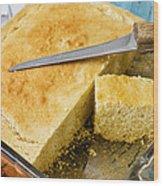 Corn Bread Wood Print