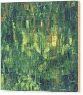 Corn Fields Wood Print