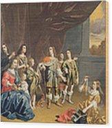 Cornelia And Her Jewels Oil On Canvas Wood Print