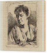 Cornelis Bega Dutch, 1631-1632-1664, Bust Of A Young Woman Wood Print